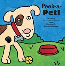 Peek-a-Pet by Marie Torres Cimarusti illustrated by Stephanie Peterson