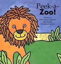 Peek-a-Zoo by Marie Torres Cimarusti illustrated by Stephanie Peterson