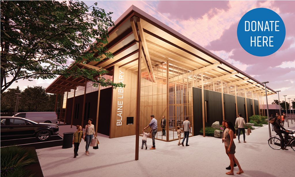 image of proposed blaine library
