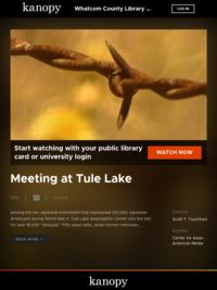 Meeting at Tule Lake movie