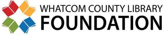 Whatcom County Library Foundation logo