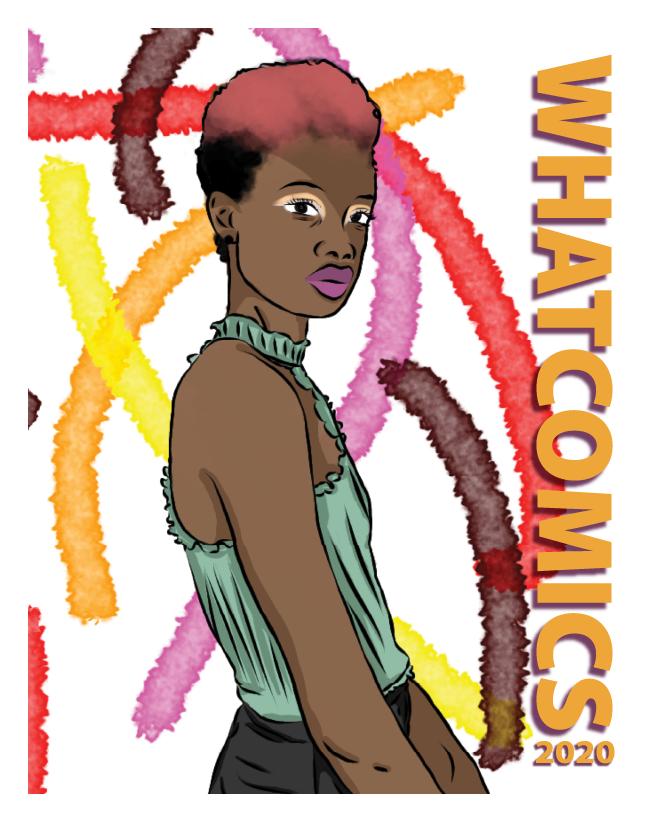 Whatcomics 2021 cover art