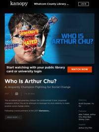 Who is Arthur Chu movie