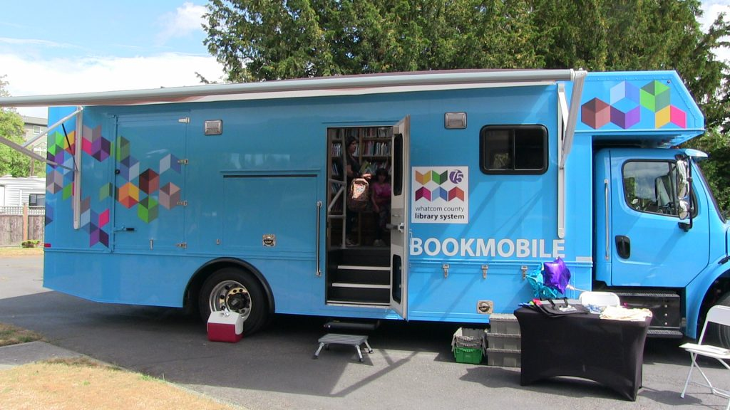 Bookmobile at Birch Bay