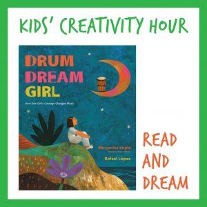 Kids Creativity Hour: Read and Dream