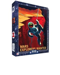 Jigsaw Puzzle box cover - Mars Explorers Wanted