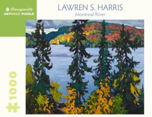 Jigsaw Puzzle box cover - Lawren S. Harris Montreal River