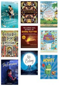 New Fiction and Nonfiction for Kids - Spring 2021
