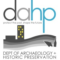 Department of archaeology and historic preservation logo