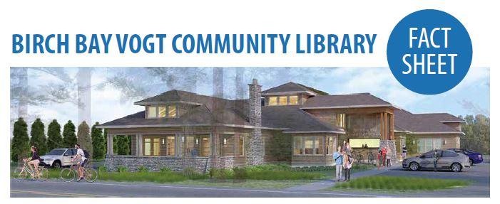 Birch Bay Vogt Community Library Fact Sheet
