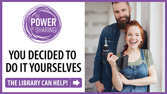 The power of sharing. You decided to do it yourselves. The library can help.