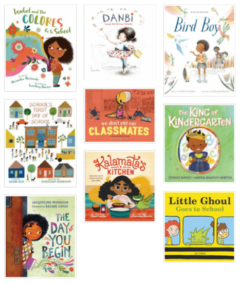 Starting school and making friends book list